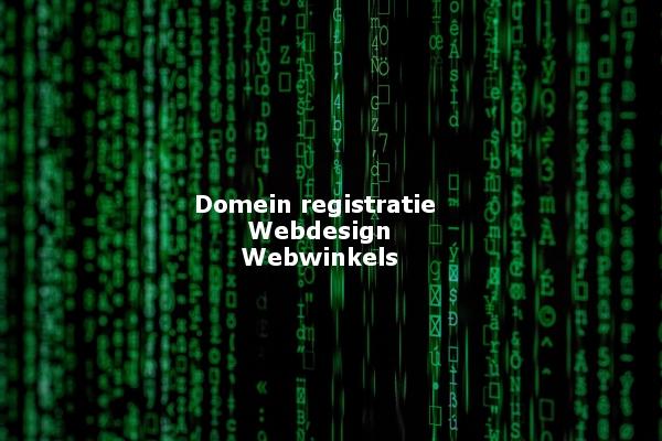 domeinnaam-webwinkel
